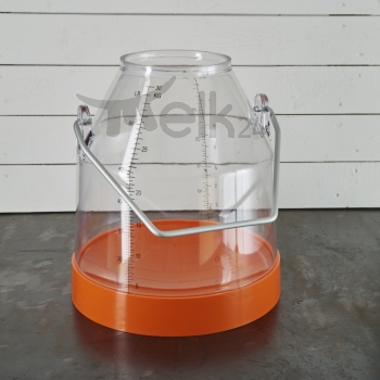 Melkeimer, 30 Liter, orange